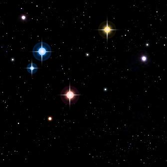 星の大きさと色│宇宙ワクワク大...